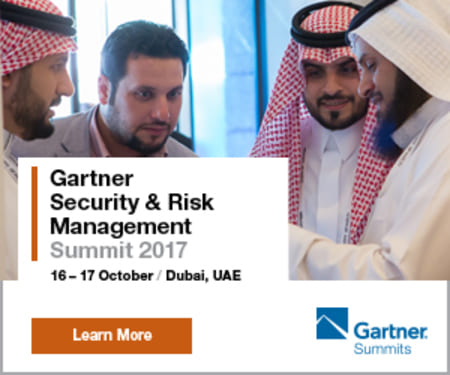 Gartner Security and Risk Management Summit 2017, Dubai